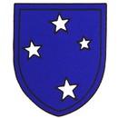 Eagle Emblems DC8136 Sticker-Army, Americal (Adhesive Face Vinyl) (3-1/4