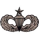 Eagle Emblems DC8306 Sticker-Army, Para, Senior (Adhesive Face Vinyl) (2-1/8