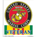 Eagle Emblems DC8312 Sticker-Vietnam, Usmc (Clear Vinyl) (3-1/4