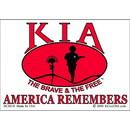 Eagle Emblems DC8318 Sticker-Kia, America Rmbr (Clear Vinyl) (3-1/4