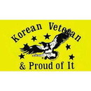 Eagle Emblems DC8355 Sticker-Korea War Veteran (Adhesive Face Vinyl) (2-3/4