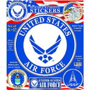 Eagle Emblems DC9004 Sticker-Usaf Symbol Pack (Set Of 6) (12.25