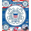 Eagle Emblems DC9005 Sticker-Uscg Logo Pack (Set Of 6) (12.25