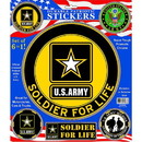Eagle Emblems DC9009 Sticker-Army Logo Pack