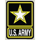 Eagle Emblems DC9026 Sticker-Army Logo
