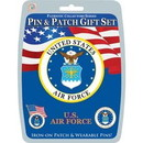 Eagle Emblems DIS0002 Gift Set-U.S.Air Force (Pin & Patch) .