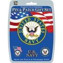 Eagle Emblems DIS0004 Gift Set-U.S.Navy (Pin & Patch) .
