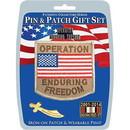 Eagle Emblems DIS0007 Gift Set-Endururing Freed (Pin & Patch) .