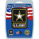 Eagle Emblems DIS0008 Gift Set-U.S.Army Logo (Pin & Patch) .
