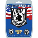 Eagle Emblems DIS0009 Gift Set-Wounded Warrior (Pin & Patch) .