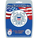 Eagle Emblems DIS0010 Gift Set-U.S.Coast Guard (Pin & Patch) .