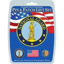 Eagle Emblems DIS0015 Gift Set-U.S.Army N.G. (Pin & Patch) .