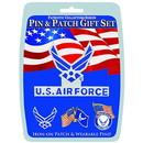 Eagle Emblems DIS0020 Gift Set-U.S.Air Force (Pin & Patch) .