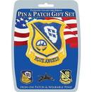 Eagle Emblems DIS0022 Gift Set-Blue Angels (Pin & Patch) .
