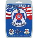 Eagle Emblems DIS0027 Gift Set-Thunderbirds (Pin & Patch) .