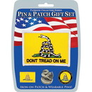 Eagle Emblems DIS0040 Gift Set-Dont Tread On Me (Pin & Patch) .