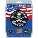 Eagle Emblems DIS0041 Gift Set-2Nd Amendment (Pin & Patch) .