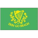 Eagle Emblems F1052 Flag-Irish (Erin Go Brah) (3Ftx5Ft) .