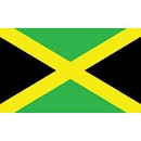 Eagle Emblems F1057 Flag-Jamaica (3Ftx5Ft) .