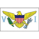 Eagle Emblems F1282 Flag-Virgin Islands (3Ftx5Ft) .