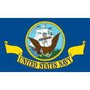Eagle Emblems F1306 Flag-Usn (3Ftx5Ft) .
