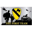 Eagle Emblems F1317 Flag-Army, 001St Cav (3Ftx5Ft) .