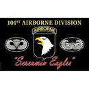 Eagle Emblems F1338 Flag-Army, 101St A/B, Eagle (3Ftx5Ft) .