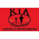 Eagle Emblems F1345 Flag-Kia,