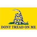 Eagle Emblems F1423 Flag-Dont Tread On Me (3Ftx5Ft)