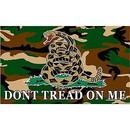 Eagle Emblems F1467 Flag-Dont Tread On Me Iv (3Ftx5Ft)      Camo