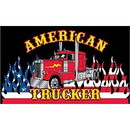 Eagle Emblems F1470 Flag-American Trucker (3Ftx5Ft) .