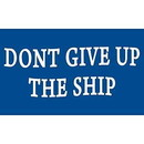 Eagle Emblems F1484 Flag-Usa, Don'T Give Up (3Ftx5Ft) .