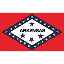 Eagle Emblems F1504 Flag-Arkansas (3Ftx5Ft) .
