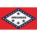 Eagle Emblems F1504 Flag-Arkansas (3Ftx5Ft) .