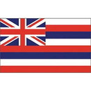 Eagle Emblems F1512 Flag-Hawaii (3Ftx5Ft) .