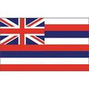 Eagle Emblems F1512 Flag-Hawaii (3Ftx5Ft) .