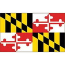 Eagle Emblems F1521 Flag-Maryland (3Ftx5Ft) .