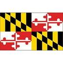 Eagle Emblems F1521 Flag-Maryland (3Ftx5Ft) .