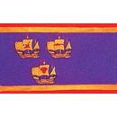 Eagle Emblems F1607 Flag-Royal, Ships (3Ftx5Ft) .
