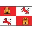 Eagle Emblems F1610 Flag-Royal, Lions (3Ftx5Ft) .