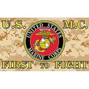 Eagle Emblems F1678 Flag-Usmc, Camo, Digital (3Ftx5Ft)