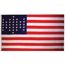 Eagle Emblems F1715 Flag-Usa, 1861-Union Civil (3Ftx5Ft) .