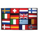 Eagle Emblems F1752 Flag-European, 16 Ctry, (3Ftx5Ft) .