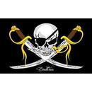Eagle Emblems F1804 Flag-Pirate, Brethren (3Ftx5Ft) .