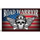 Eagle Emblems F1819 Flag-Live To Ride (3Ftx5Ft) .