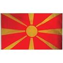 Eagle Emblems F1847 Flag-Macedonia (3Ftx5Ft) .