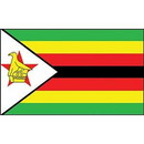 Eagle Emblems F2122 Flag-Zimbabwe (2Ftx3Ft) .