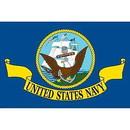 Eagle Emblems F2306 Flag-Usn (2Ftx3Ft) .
