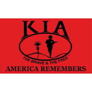 Eagle Emblems F2342 Flag-Kia Honor, Super Poly (2Ftx3Ft)