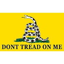 Eagle Emblems F2423 Flag-Dont Tread On Me (2Ftx3Ft) .